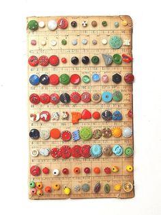 ButtonArtMuseum.com - Antique Art Deco Modern Bakelite Button Collection Salesman's Sample Couture 100 | eBay