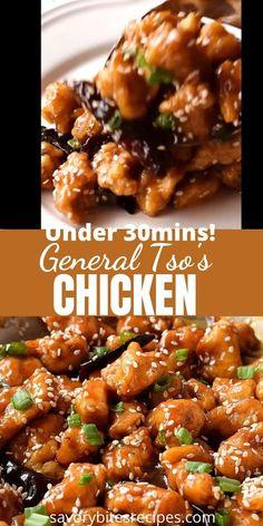 Easy Chinese Chicken Recipes, Chinese Chicken Stir Fry, Homemade Chinese Food, Chicken Teriyaki Recipe, Authentic Chinese Recipes, Asian Recipes, Easy Chinese Food Recipes, Chinese Stir Fry Sauce, Oriental Recipes