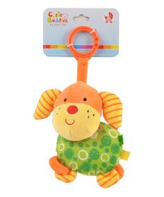 Take a look at this Orange Puppy Plush Toy by Linzy Toys on #zulily today!
