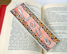 Zentangle Art Bookmark