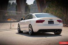 Audi on Vossen wheels Audi Allroad, Audi Rs5, Audi Quattro, Audi A5 Coupe, Black Audi, Super Images, Lux Cars, Fancy Cars, Amazing Cars