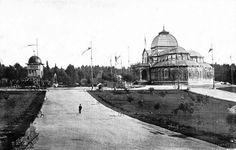 1908 Palacio de Cristal. El Retiro.