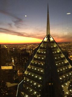 Gorgeous Chicago sunset! Taken from the 66th floor of Edelman Chicago