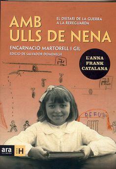 Aquest llibre que he llegit durant aquests dies de pont parla de les vivències d'una nena que va viure la Guerra Civil Espanyola.   El racionament del menjar, el no poder anar a l'escola,... formaven part de la vida diària de l'Encarnació Martorell i Gil
