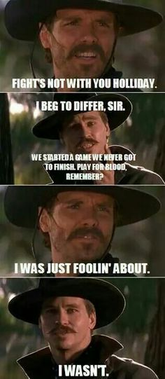 ❦  The Western Online...Love me some Doc Holliday