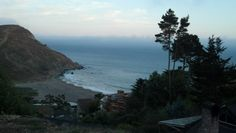 Muir Woods Beach, California. This is 10 miles north of San Francisco near Mill Valley, which we also went. Photo taken by me 09/2012.