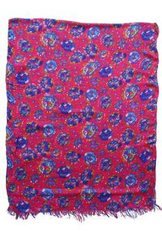 ADR Rayon Neck Scarf, Shawl Wrap, Floral, 72x28 inches, (A0823) $4.95