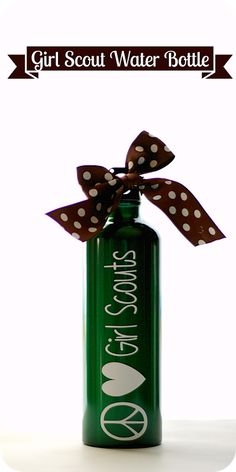 Keeping My Cents ¢¢¢: Girl Scouts water bottle gift
