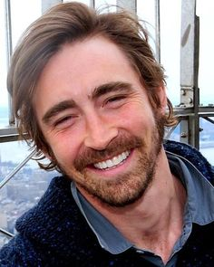 From NY...Lee Pace looking a lot like Hugh Jackman here.