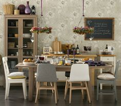 mix and match chairs small dining rom