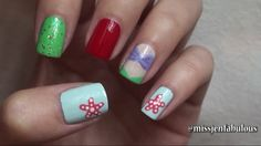 Watch MissJenFabulous and SUBSCRIBE on Youtube to watch the cute Disney character Ariel nails! #cute #nails