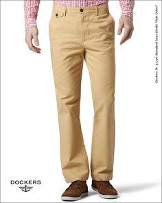 """#Spodnie #Dockers D1 47576 Standard Issue Khaki """"Pale Ochre"""""""