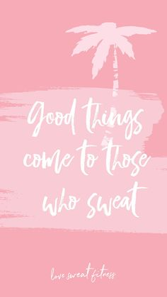 Set these cute pics as lock screens on your phone to help you keep your head in the game! Because Good Things Come to Those Who Sweat :) Aesthetic Iphone Wallpaper, Wallpaper Backgrounds, Phone Backgrounds, Iphone Wallpapers, Screen Wallpaper, Desktop, Pokemon Go, Screensaver Images, Inspirational Quotes Background