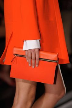 Orange Dream: Victoria Beckham s/s 2013. #nyfw