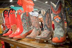 Boots: I can't wait to see products like this at An Affair of the Heart of Tulsa in November.