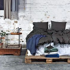 Bed Linen - Dark Grey on Wanelo