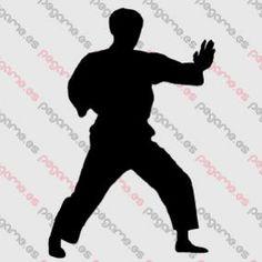 Pegame.es Online Decals Shop  #sport #fight #marcial_arts #karate #vinyl #sticker #pegatina #vinilo #stencil #decal