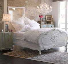 This bed looks like a dream.