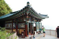 Naksansa Temple in Yangyang, Korea