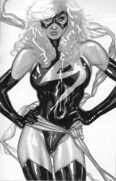 Ms. Marvel - Adam Hughes