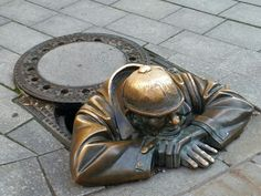 Hombre de la alcantarilla - Bratislava  (Eslovaquia)