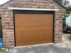 If you're looking for 'electric roller garage doors near me', you'll be pleased to know that we install electric roller garage doors UK wide. Click the link to see our electric roller garage doors. Garage Doors Uk, Single Garage Door, Garage Door Paint, Electric Garage Doors, Garage Door Decor, Garage Door Makeover, Garage Door Design, Garage Walls, Roller Doors