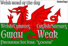 Welsh Word of the Day: Gwan/Weak