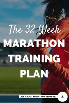 This 32 Week Marathon Training Plan is perfect for the runner who wants to take their time building up to the marathon distance and really focus on preventing injury and building a strong base throughout their training. #allaboutmarathontraining #marathon #marathontraining #runner