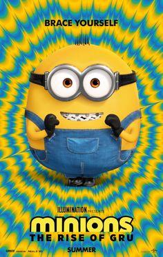Poster Minions The Rise Of Gru Peliculas Completas Gratis Cosas De Minion Minions 2