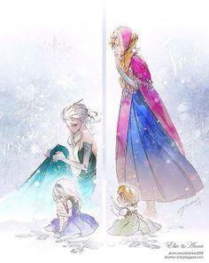 Queen Elsa & Anna :)