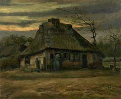 Intercepted by Gravitation | Vincent van Gogh The Hut 1885