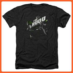 Arrow CW Superhero TV Series The Hood Adult Heather T-Shirt Tee - Superheroes shirts (*Partner-Link)