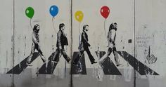 Abbey Road balloons
