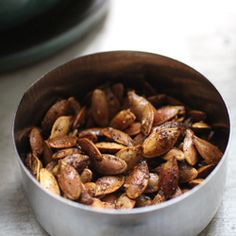 Spice up your pumpkin seeds this season with Indian masala.
