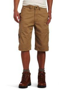 Carhartt Men Cotton Canvas Utility Work Shorts B144 Loose Original Fit Pants 36W