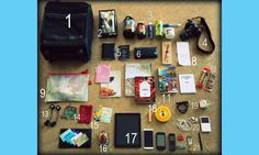 Flight 001 – Where Travel Begins. Flight Log - What's Inside A Flight Attendant's Carry-on?