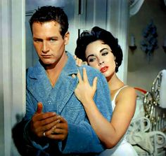 Paul Newman and Elizabeth Taylor, 'Cat on a Hot Tin Roof'
