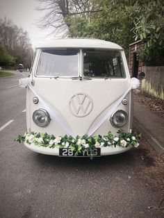 Our beautiful wedding camper van, Peggy 💜 available to hire for weddings and events in Sussex, Surrey, Kent, London and Hampshire.   -  #weddingcarsAlphard #weddingcarsBack #weddingcarsBride