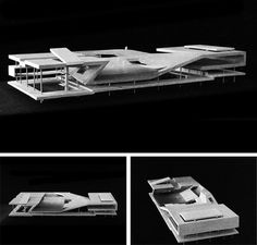 archisketchbook - architecture-sketchbook, a pool of architecture drawings, models and ideas - fabriciomora: MVRDV - SLOTERPARK POOL