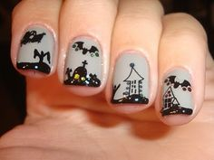 Fun halloween nails! by thelma