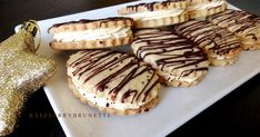 Sweet Desserts, Sweet Recipes, Baking Recipes, Dessert Recipes, Christmas Crafts For Gifts, My Dessert, Holiday Cookies, Biscotti, Cheesecake
