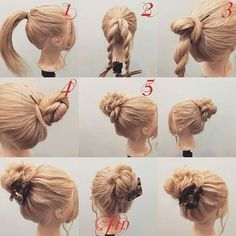 Pinterest Hair, Headbands, Fast Hairstyles, Hair Beauty, Easy, Hair Styles, Accessories, Strand, Fashion