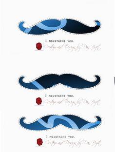 #RT  {^ᴥ^} #iMoustacheYou #LaMoustacheOnYou #LaMoustacheForYou Print #Free #Moustache