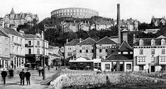 Old photograph of Oban on the West Coast of Scotland