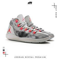 """Der Jordan Reveal Premium """"Wolfgrey / Infrared23"""" ist ab sofort inStore & onLine auf www.soulfoot.de für €129,95 erhältlich!  #jordan #airjordan #jordanreveal #premium #infrared23 #wolfgrey #sneaker #soulfoot #slft"""