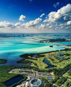 Key Biscayne Florida by HighDrone #miami #florida #miamibeach #sobe #southbeach #brickell #visitflorida
