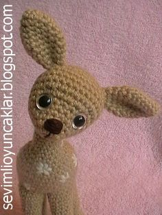 Amigurumi Baby Fawn Pattern by Ulku Akcam, Denizmum on Etsy