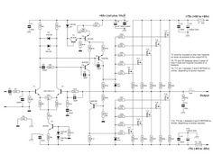 600 Watt Mosfet Power Amplifier Circuit Diagram