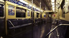 the empty NYC subway - Time Out New York