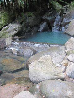 Randonnée très facile enfant famille Guadeloupe bassin bleu